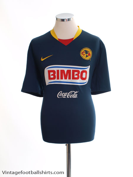 2008-09 Club America Away Shirt XL