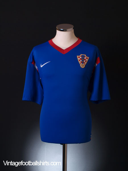 2008-09 Croatia Away Shirt S