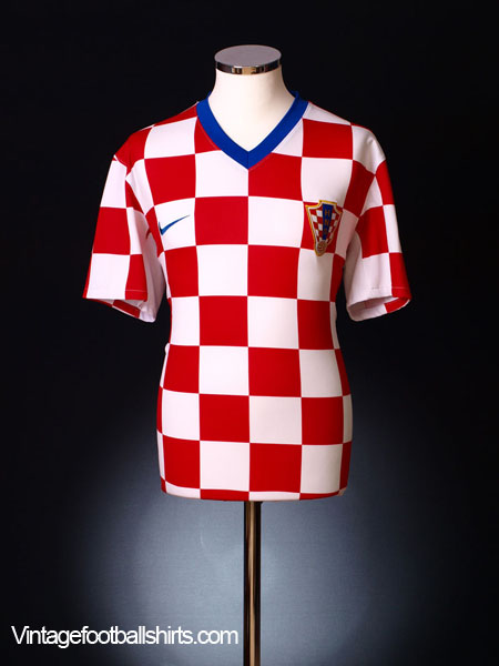2008-09 Croatia Home Shirt L