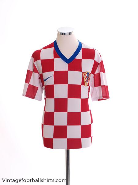 2008-09 Croatia Home Shirt *Mint* M