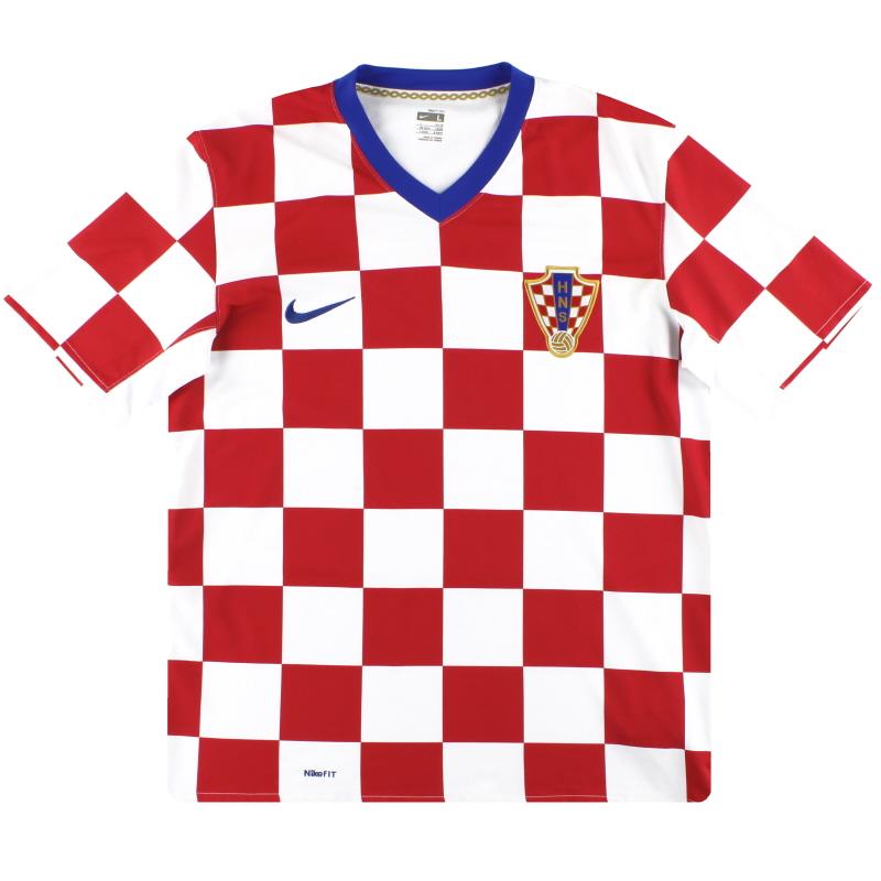 2008-09 Croatia Nike Home Shirt M - 264435-614