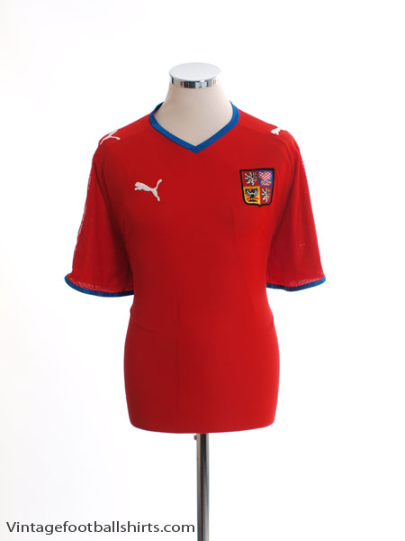 2008-09 Czech Republic Home Shirt XL