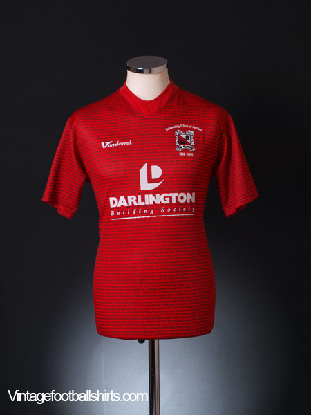2008-09 Darlington '125 Years' Away Shirt S