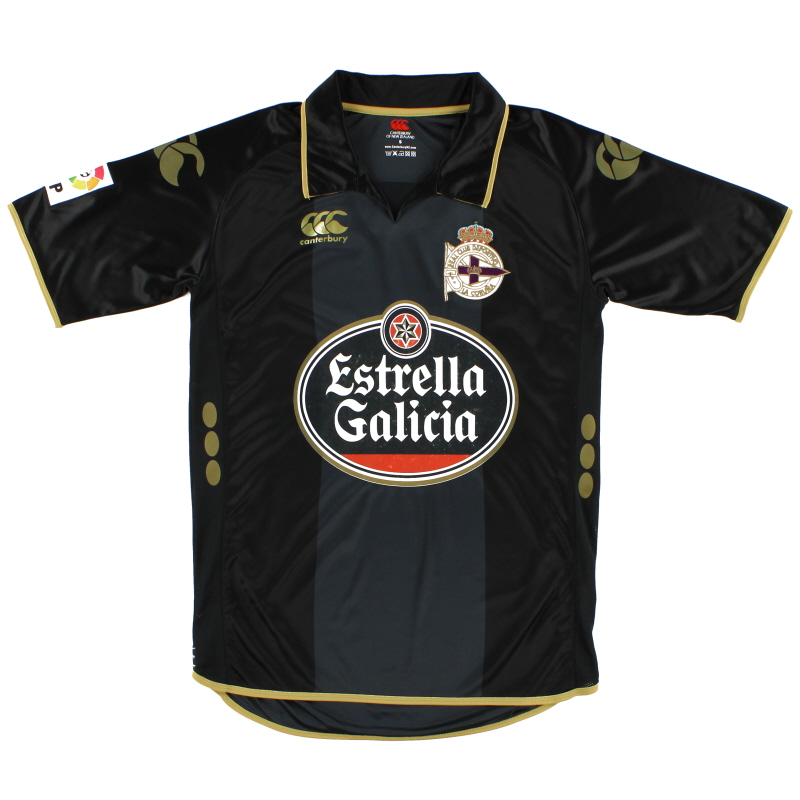 2008-09 Deportivo Away Shirt S