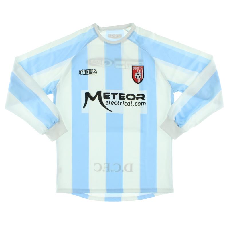 2008-09 Derry City Away Shirt L/S S