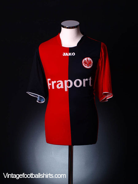 2008 09 eintracht frankfurt home shirt xl for sale. Black Bedroom Furniture Sets. Home Design Ideas