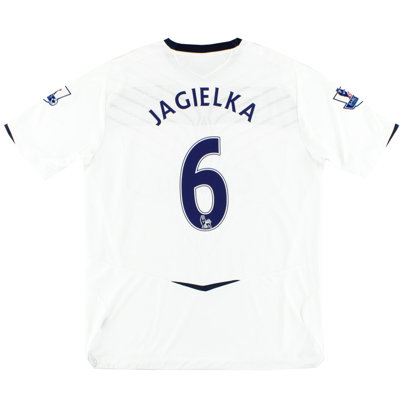 2008-09 Everton Away Shirt Jagielka #6 *Mint* XL