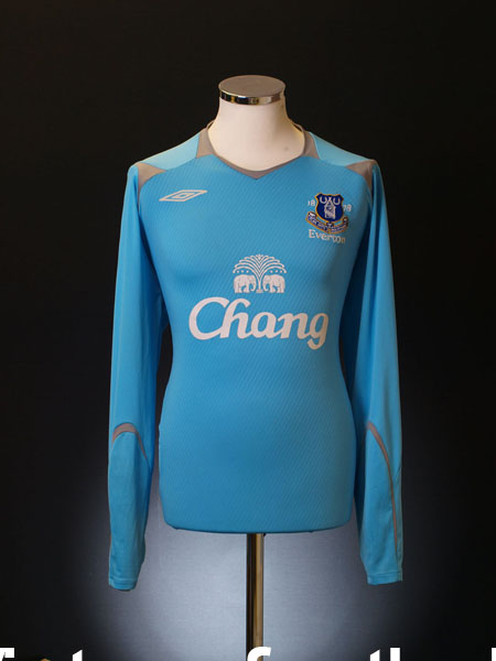 2008-09 Everton Goalkeeper Away Shirt L/S XL