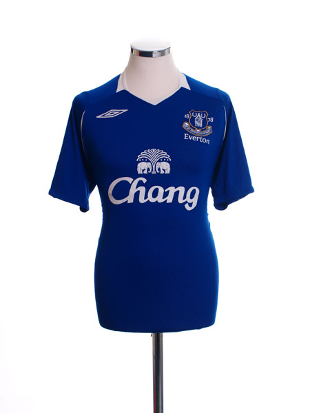 2008-09 Everton Home Shirt M