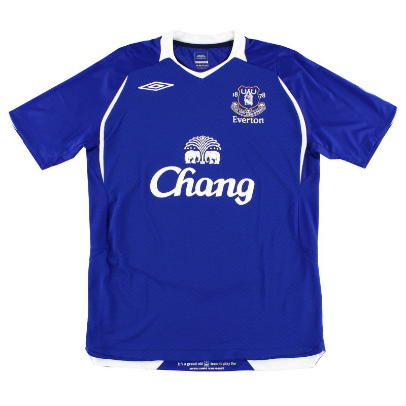 2008-09 Everton Home Shirt Womens 16