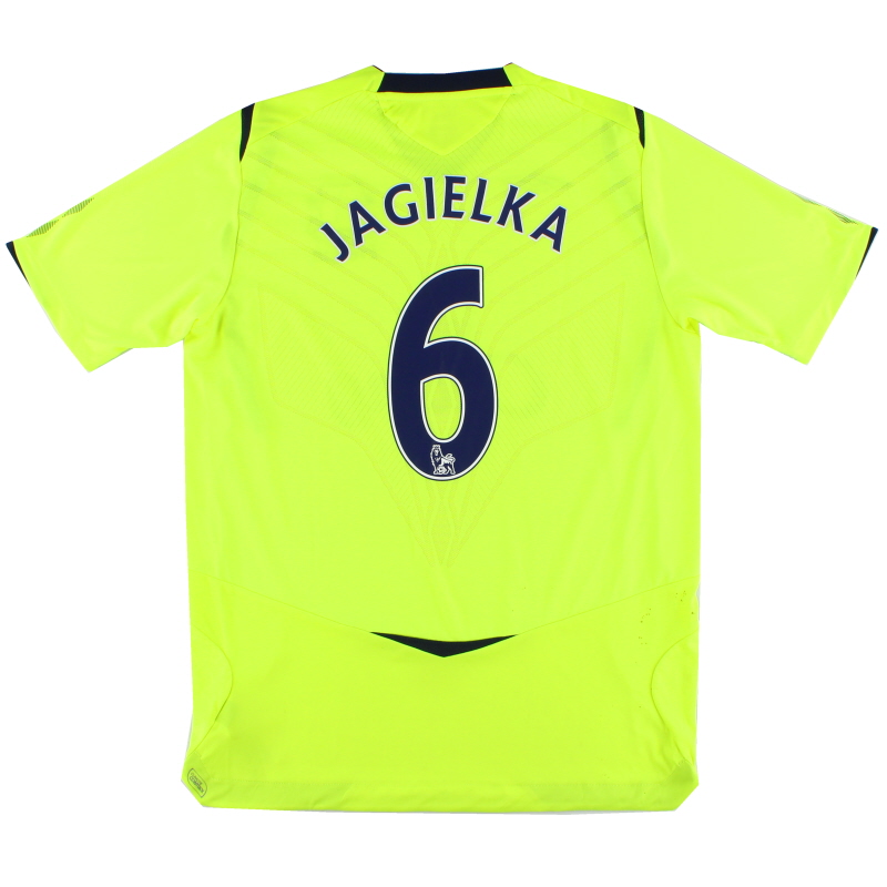 2008-09 Everton Third Shirt Jagielka #6 L