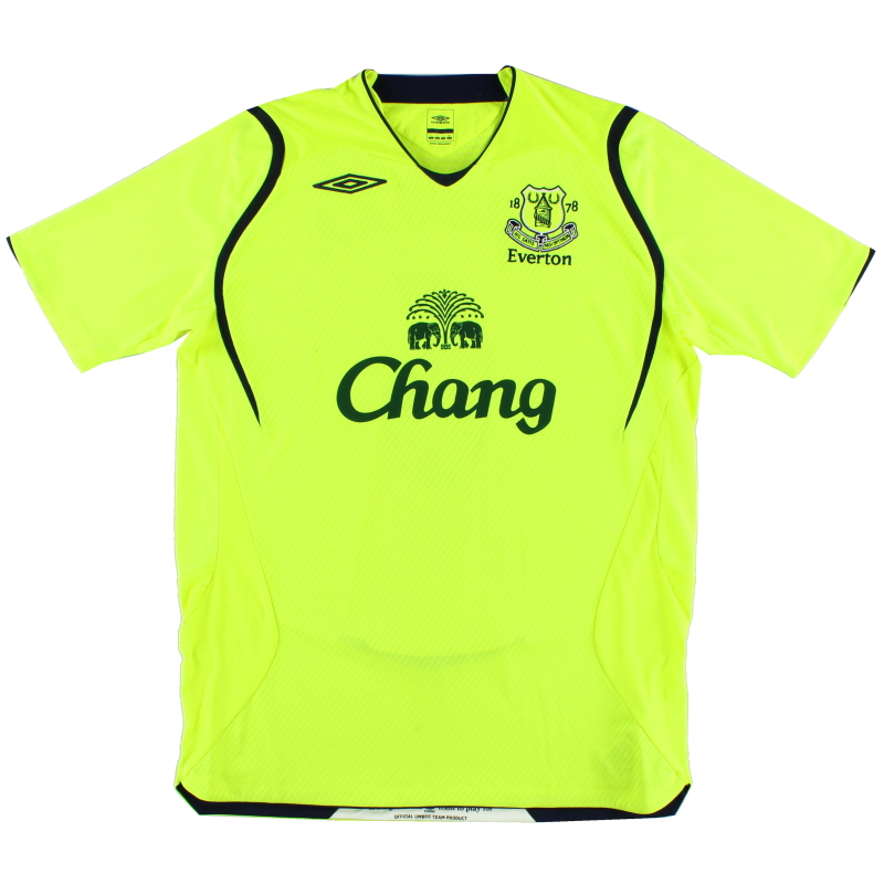 2008-09 Everton Third Shirt M