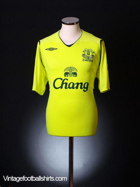 2008-09 Everton Third Shirt S