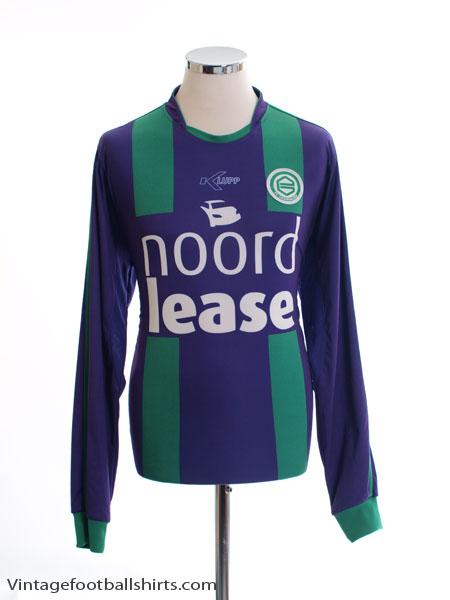 2008-09 FC Groningen Away Shirt L/S L