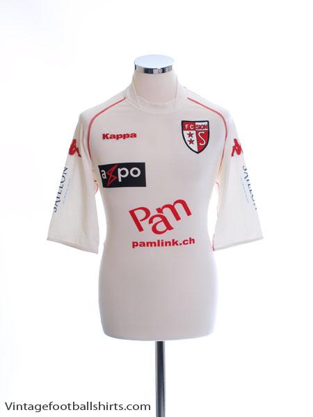 2008-09 FC Sion Home Shirt XXL