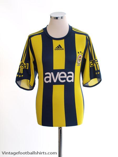 2008-09 Fenerbahce Basic Home Shirt L