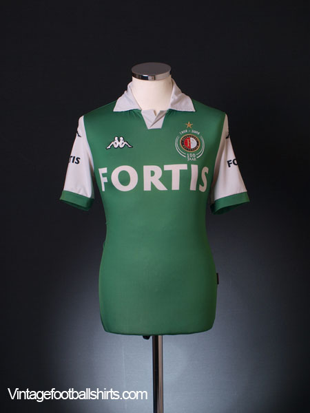 2008-09 Feyenoord Centenary Away Shirt S