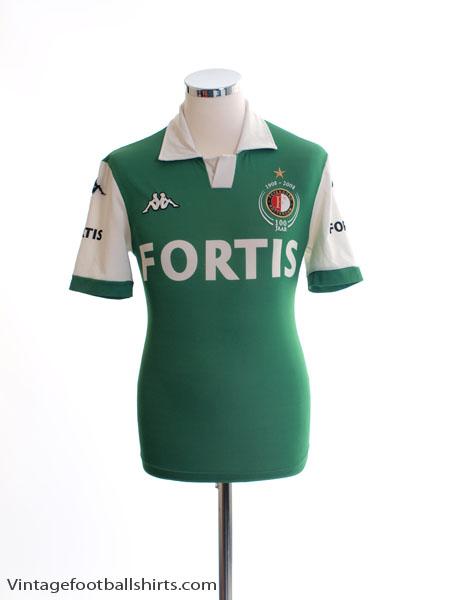 2008-09 Feyenoord Centenary Away Shirt XXL.Boys