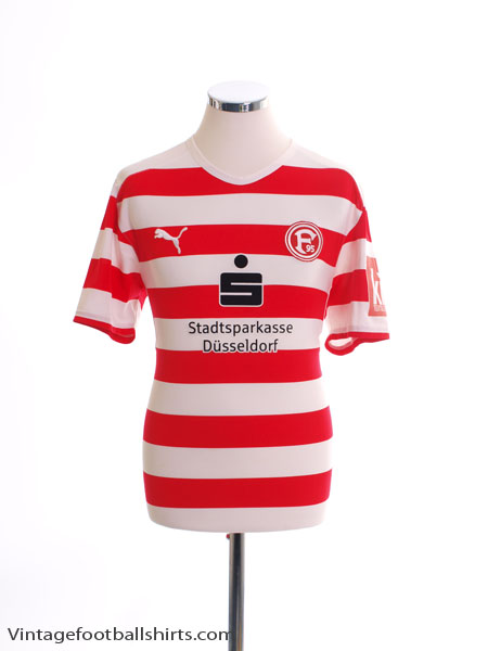 2008-09 Fortuna Dusseldorf Home Shirt S