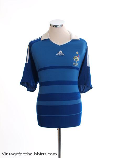 2008-09 France Home Shirt *BNWT* L