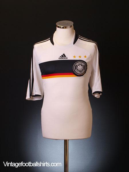 2008-09 Germany Home Shirt L