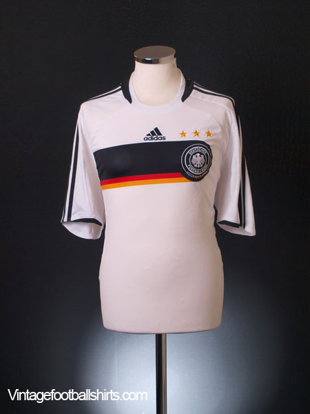 2008-09 Germany Home Shirt S