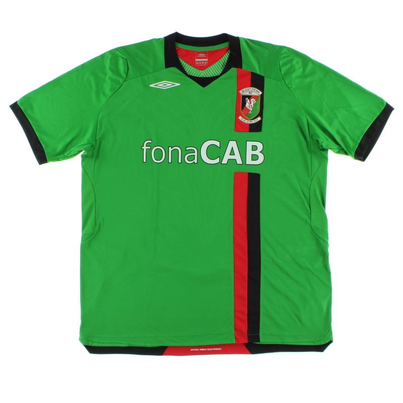 2008-09 Glentoran FC Home Shirt XXL