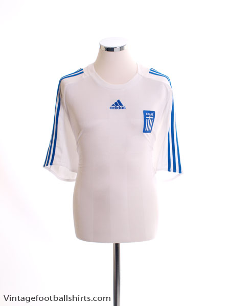 2008-09 Greece Away Shirt *Mint* XL - 627006