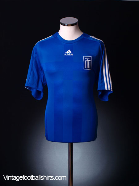 2008-09 Greece Home Shirt *As New* XL.Boys
