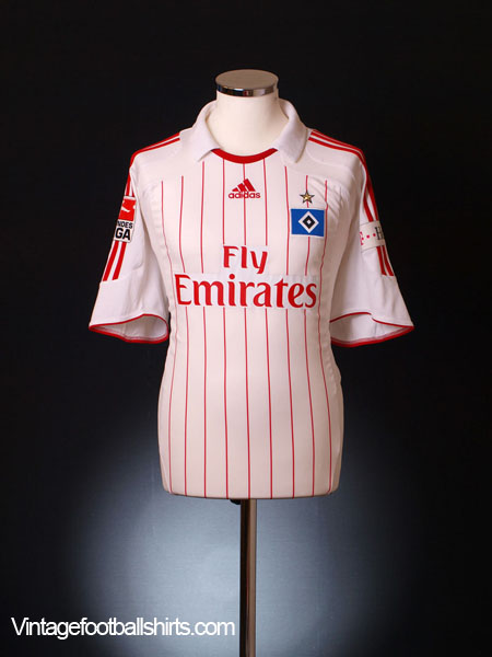 2008-09 Hamburg Home Shirt L
