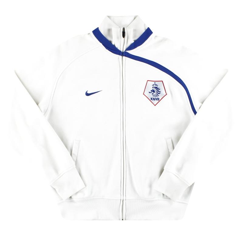 2008-09 Holland Nike Track Jacket L - 268575-106