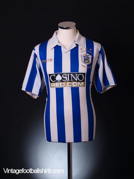 2008-09 Huddersfield Centenary Shirt L