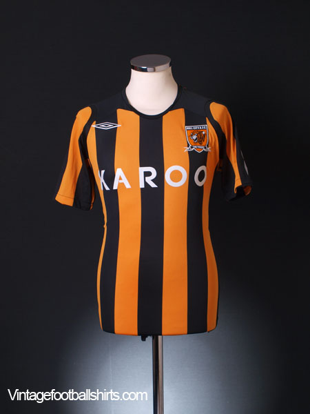 2008-09 Hull City Home Shirt L