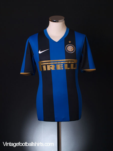 2008-09 Inter Milan Home Shirt M