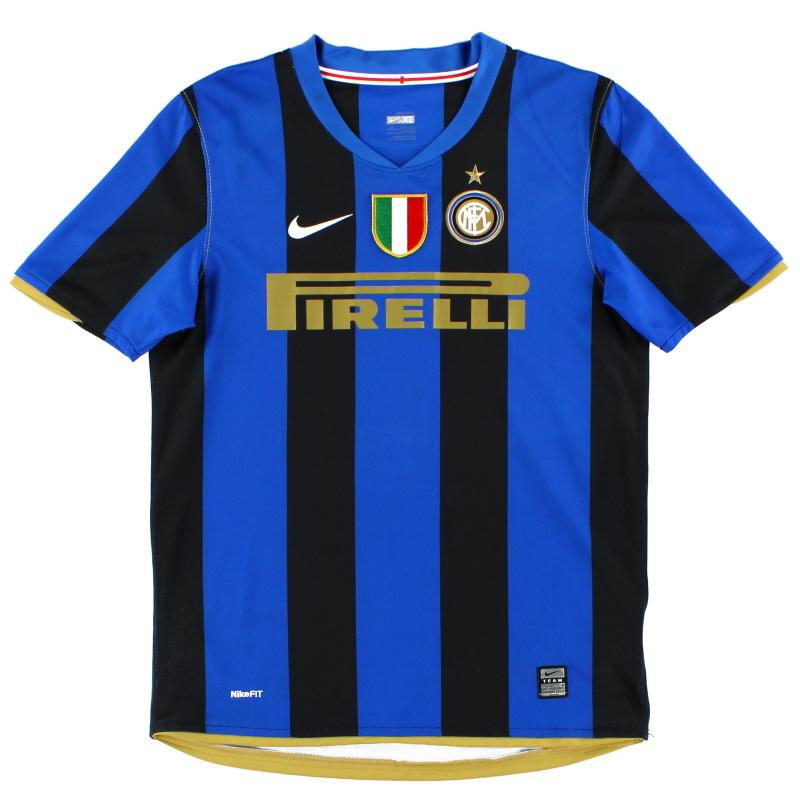 2008-09 Inter Milan Home Shirt XL.Boys - 287416-490