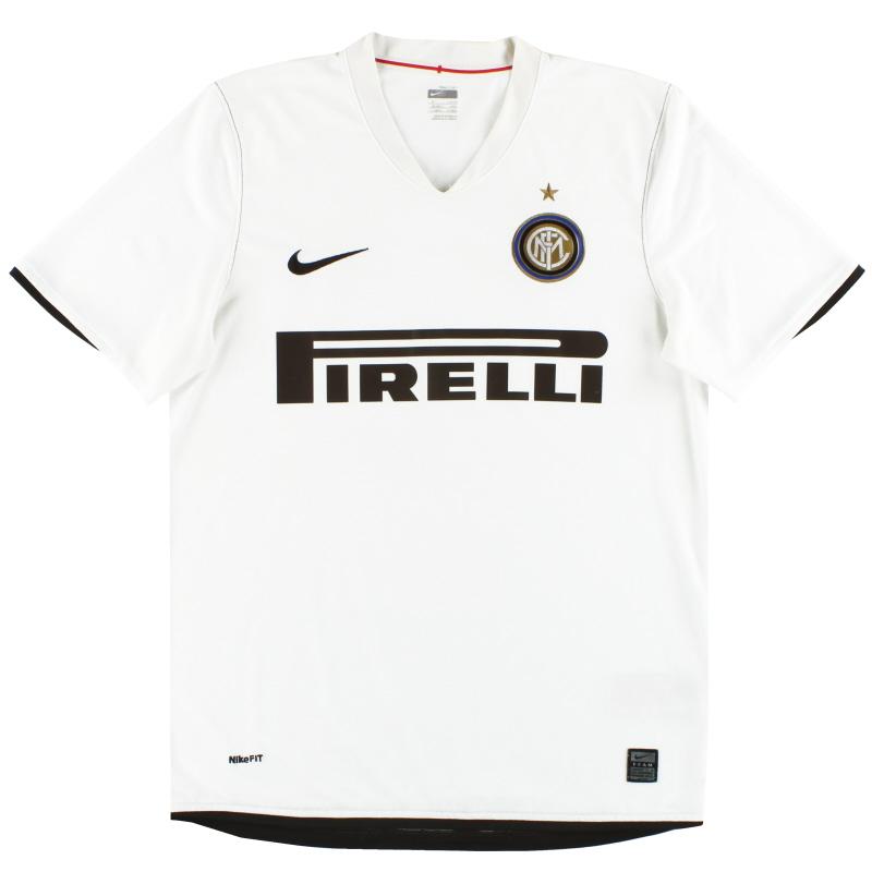 2008-09 Inter Milan Nike Away Shirt M - 287409-105