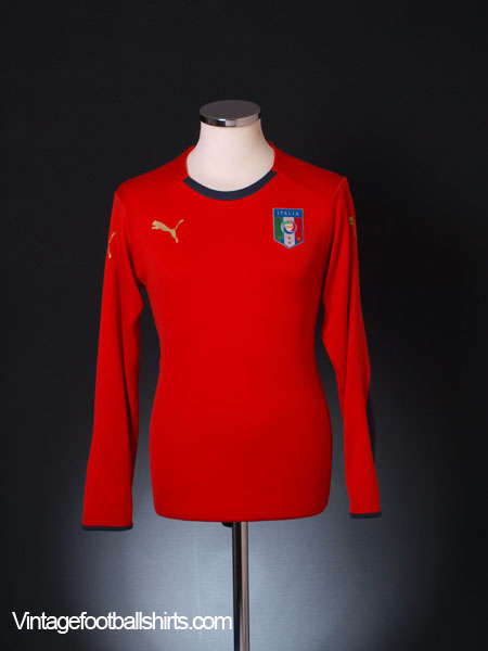2008-09 Italy Goalkeeper Shirt M