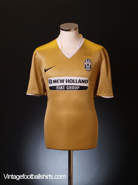 2008-09 Juventus Away Shirt L