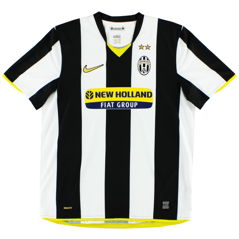 2008-09 Juventus Home Shirt S - 2287402-010