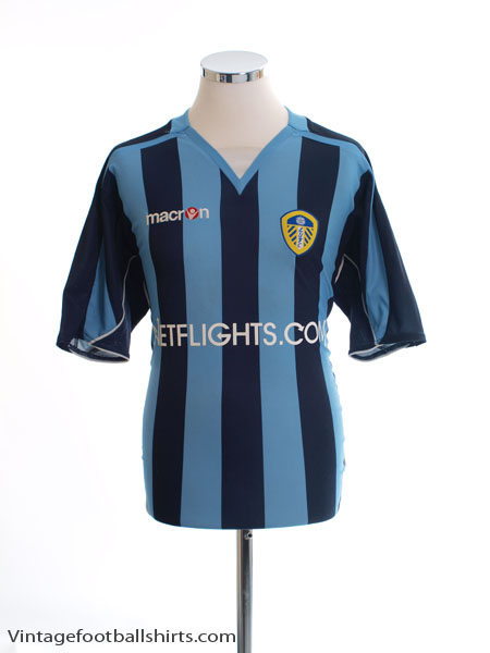 2008-09 Leeds Away Shirt M