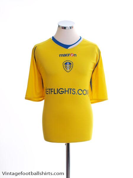 2008-09 Leeds Third Shirt L