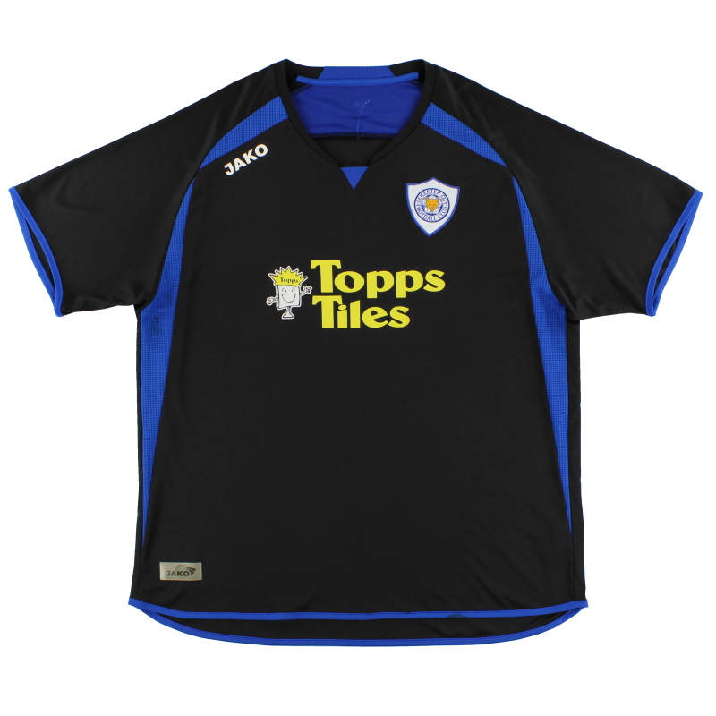 2008-09 Leicester Away Shirt XL