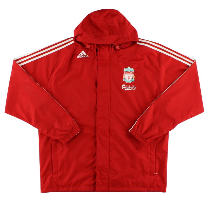 2008-09 Liverpool adidas Rain Jacket XL.Boys - E88191