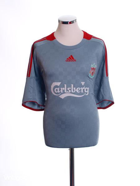 2008-09 Liverpool Away Shirt M
