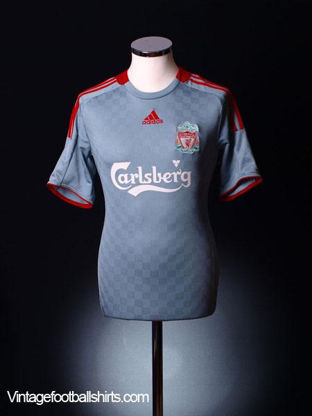 2008-09 Liverpool Away Shirt L
