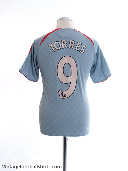 2008-09 Liverpool Away Shirt Torres #9 Y - 573995