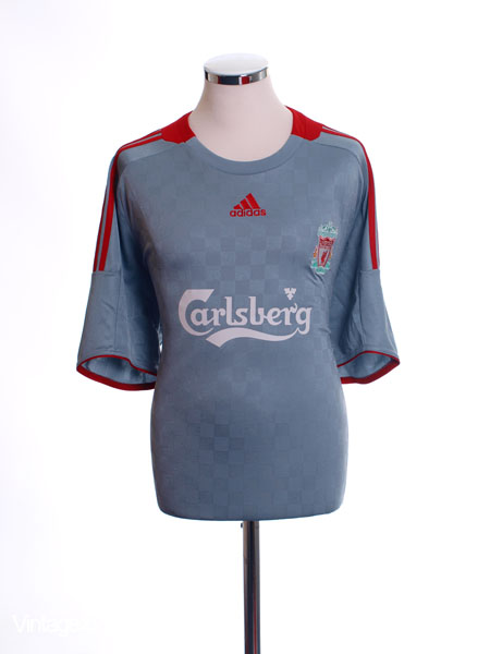 2008-09 Liverpool Away Shirt XXL