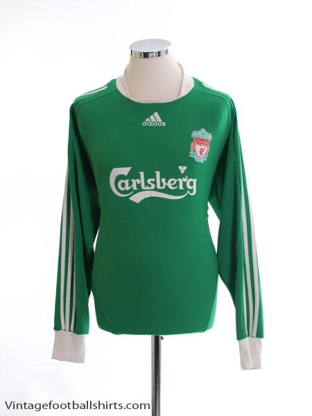 2008-09 Liverpool Goalkeeper Shirt L