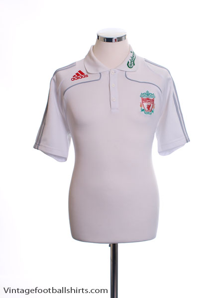 2008-09 Liverpool Polo Shirt L