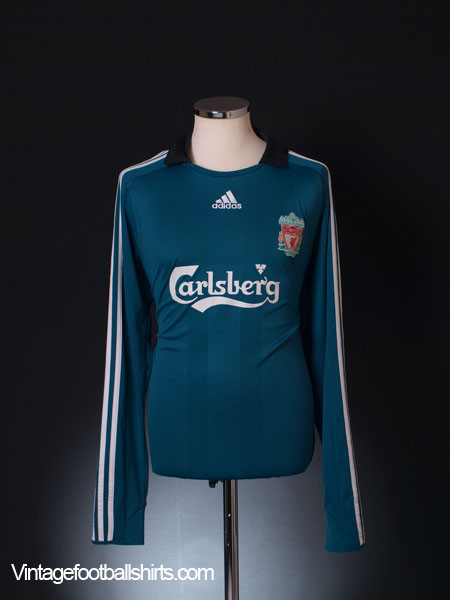 2008-09 Liverpool Third Shirt L/S L